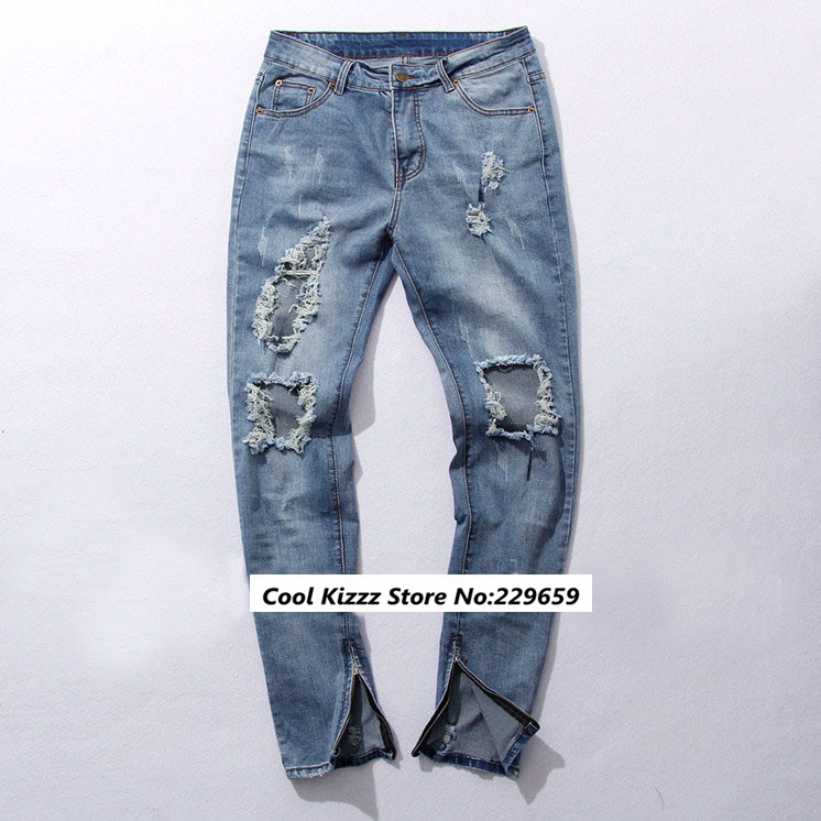 how to wear distressed jeans mens