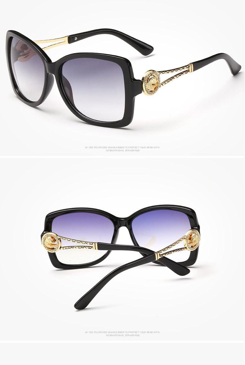 2016 Новый летний стиль роскошные солнцезащитные очки женщин модной UV400 женский ретро vintage солнцезащитные очки для женщин óculos де золь