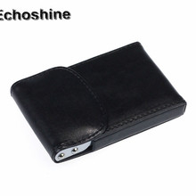 Buy Fashion Business Name ID Credit Card Mini Box Pocket Wallet Case Holder business cards organized gift wholesale popular for $2.11 in AliExpress store