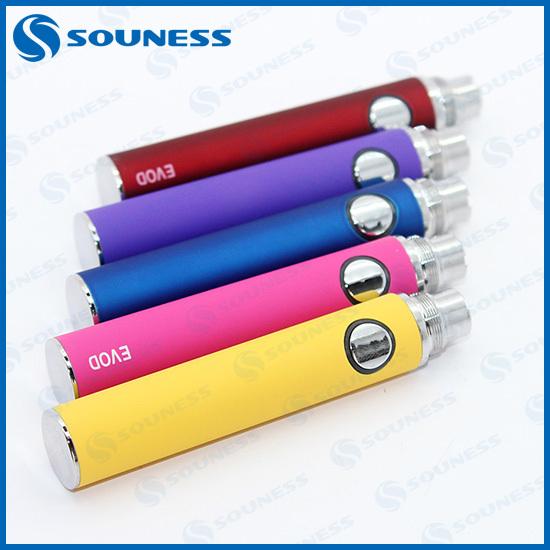 1pc 2014 newest cigarette electronique original popular ecigator ecig e cigarette mt3 evod battery (1*EVOD battery)(China (Mainland))