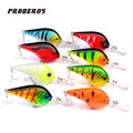 8pcs set 9 5cm 11 2g New Free Shipping Fishing Lures Crank Bait Crankbaits Isca Artificial
