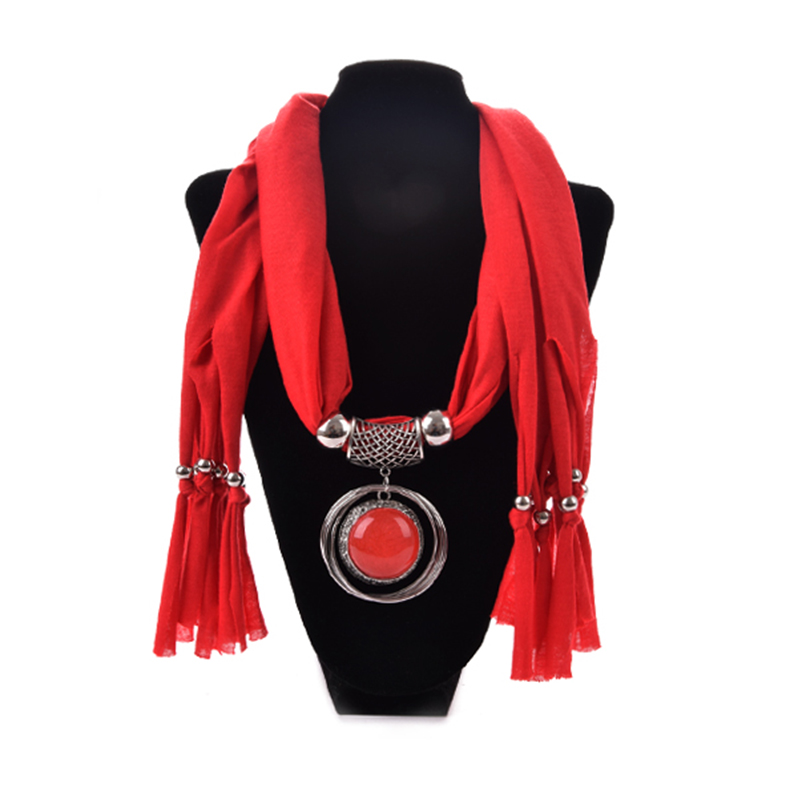 Elegant Women Ladies Necklace Scarves Owl Pendant Jewelry Tassels Scarf Shawl Одежда и ак�е��уары<br><br><br>Aliexpress
