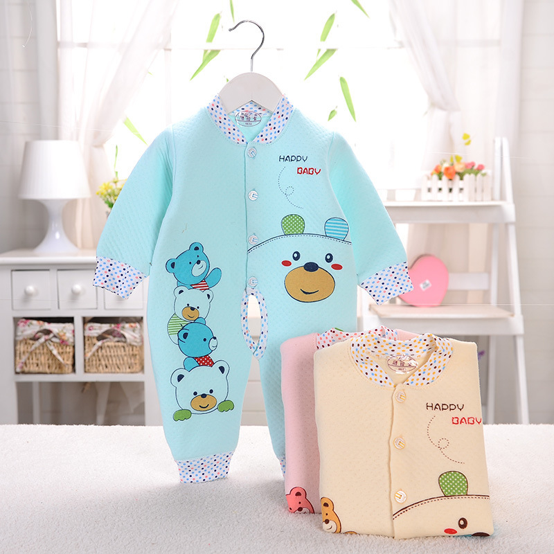 baby clothing baby rompers 2015 newborn autumn 100%cotton button cute rompers carters baby boy clothes jumpsuit free shopping(China (Mainland))