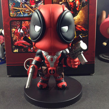 2016 Q Version X-men Deadpool PVC Doll Action Figure Toys Gift Children Collectible Toy 5.5 inch14cm KA0420 - Kitty's toys store