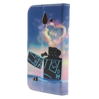 Etui dla Huawei Ascend Y550 | kształt portfela z funkcją stojaka