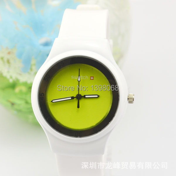 Women Watches 2015 Unisex Fashion casual multicolor silicone quartz watch men sports watches Wristwatches relogio feminino