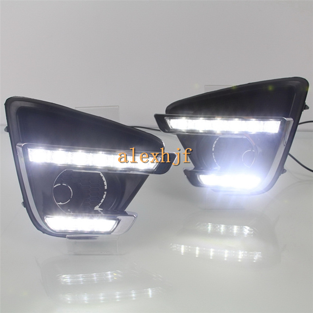 LED Daytime Running Lights DRL With Fog Lamp Cover, LED Fog Lamp case for Mazda CX-5 2016~ON, 1:1 Replacement, Free Shipping<br><br>Aliexpress