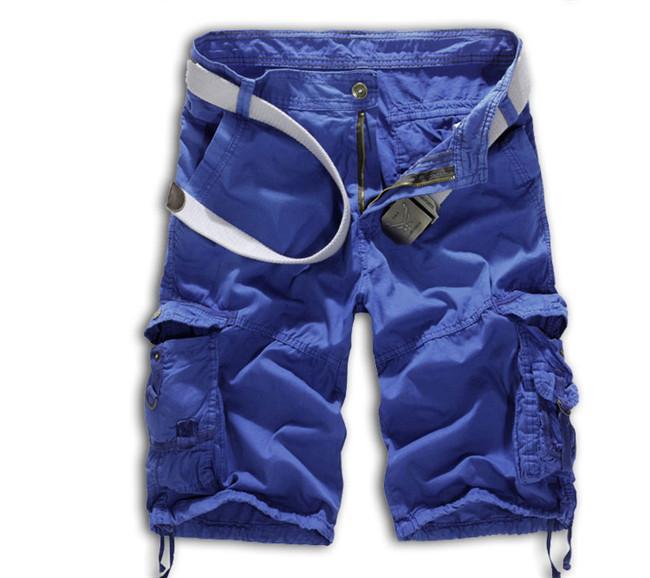 Wholesale Summer Mens Baggy Camo Cargo Shorts Multipockets Baggy ... 92b06577e0e