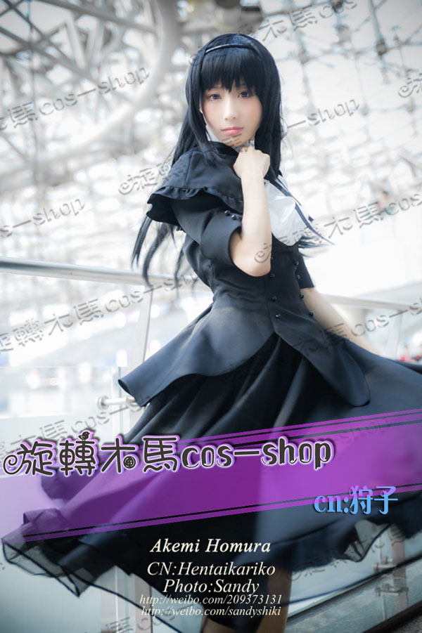 Akemi Homura Cosplay Costume from Puella Magi Madoka Magica cosplayОдежда и ак�е��уары<br><br><br>Aliexpress