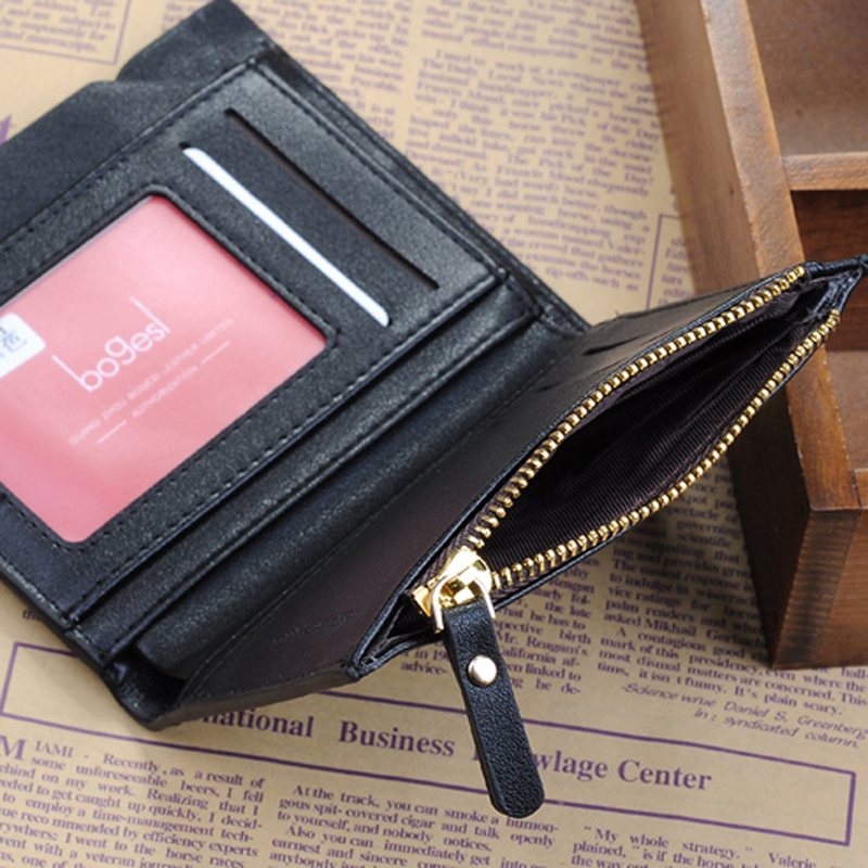 with Coin Bag zipper new 2015 men wallets famous brand mens wallet male money purses Wallets