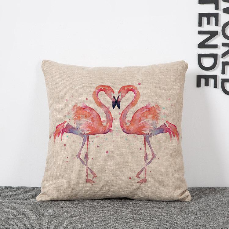 Watercolor fire Firebird Car Seat Cushion Decorative Home Decor Sofa Chair Throw Pillows Decorate Pillow Cushions