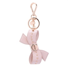 MIMCO Peek A Bow Keychain blossom pink roseogold color with tag dustbag(China (Mainland))