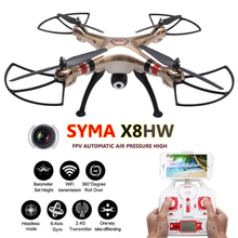 Buy Syma X8HW X8HC Quadcopter FPV 6 Axis Quadrocopter Camera Remote Control Helicoptero RC Drones Com Camera HD Profissional Dron for $110.14 in AliExpress store