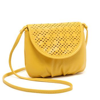 Gofuly 2015 новинка стиль женщин кожаная сумка креста тела сумка почтальона сумочки мини сумки на ремне , горячая распродажа