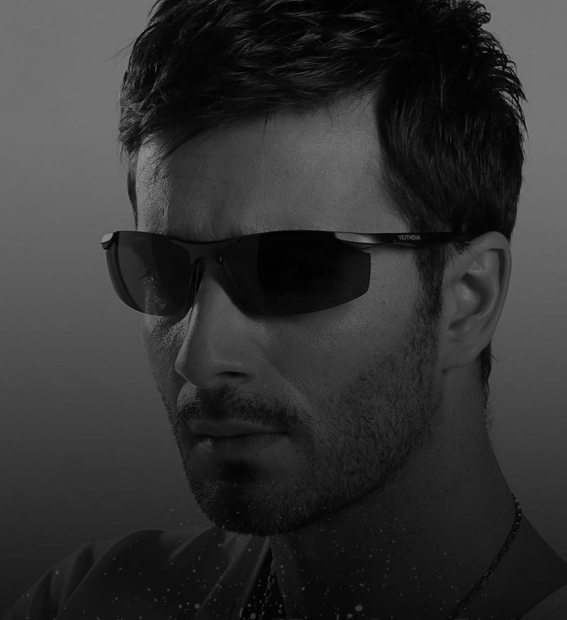 Brand Aluminum Polarized Sunglasses Men Sports Sun Glasses Driving Mirror Goggle Eyewear Male Accessories 6529