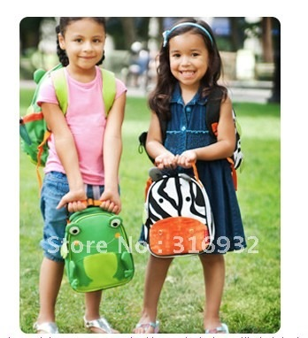 I4 New ! Retail Children's Cute animal design Meal bag ,1pc