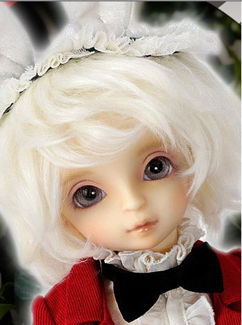 Free sd doll 1 / 6bjd doll eyes open society v white rabbit1 / 6bjd male baby<br><br>Aliexpress
