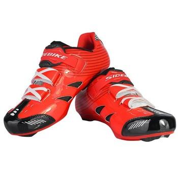 SIDEBIKE Велоспорт Обувь мужчины женщины Регулируемая Дорожный Велосипед Обувь Удобные дышащие Велосипедные Туфли Sapatilha Ciclismo Zapatillas