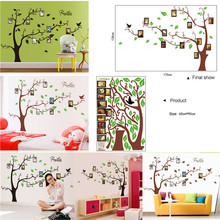 Buy Large size DIY Photo Frame Tree Vinyl Removable Decal Home Bedroom Living Room Decor Art Mural PVC Wall Stickers Wall Poster for $5.79 in AliExpress store