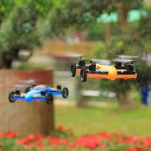 Flying Quadcopter Car Remote Control Car and Quadcopter Drone