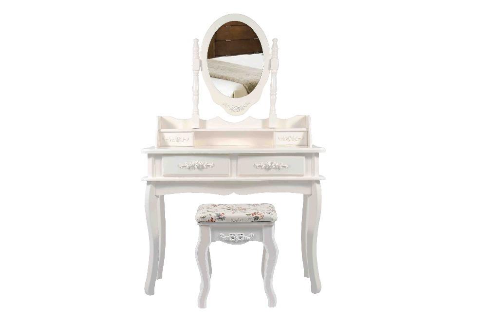 Moderno tocador con silla en c modas de muebles en for Sillas para tocador