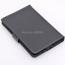 Black 7 Inch Tablet PC Leather Case Protecting Jacket(China (Mainland))