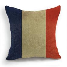 France Flag Pillows Cushion