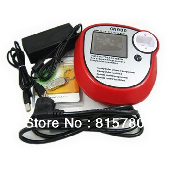 New Auto Transponder Chip Key Copier CN900 Car Remote Control Key Programmer (3.6-inch TFT LCD display) ,Free Shipping