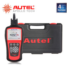 Top 2016 Newest Original Price Autel Maxidiag Elite MD802 scanner for 4 systems (MD701+MD702+MD703+MD704) Update Online DHL Ship(China (Mainland))