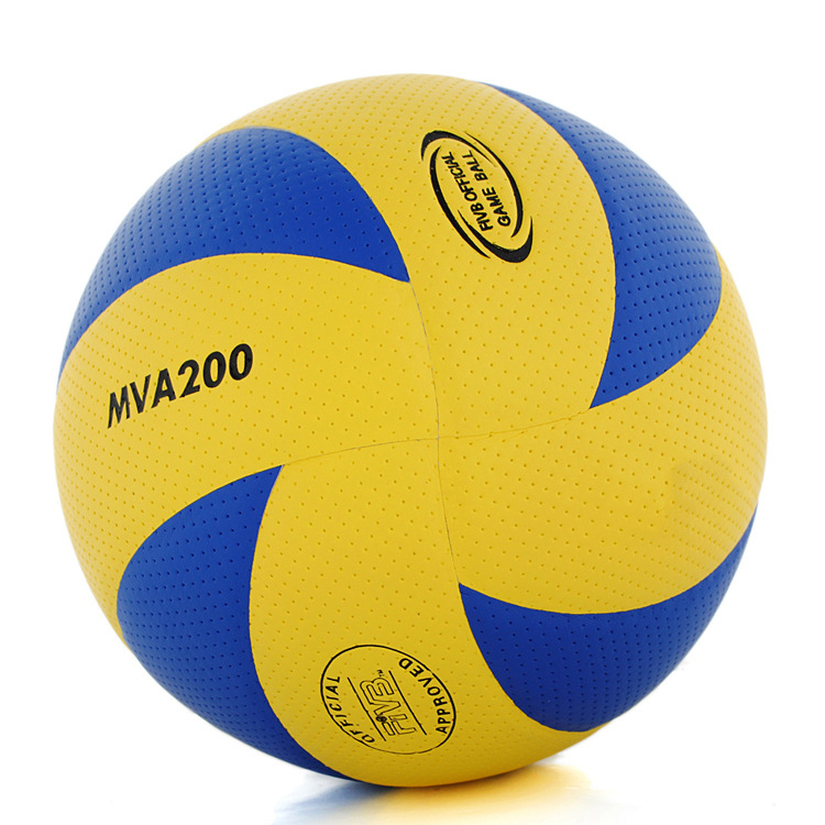 Free Shipping 5 PU Volleyball Official Match MVA200 Volleyballs Indoor Training Competition Volleyball balls(China (Mainland))