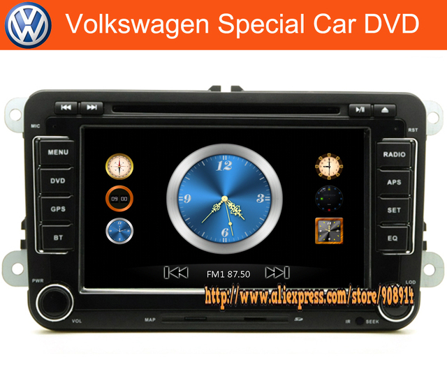 Free Shipping Latest high quality Special Car DVD Plarer For Volkswagen Jetta PASSAT CC B6 POLO GOLF TIGUAN SEAT Stock Gps
