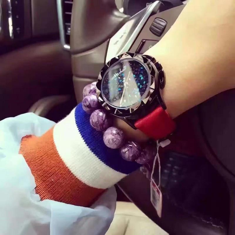 Леди Наручные Часы Кварцевые Женщина Часов Лучший Моды Платье Корея Браслет Марка Кожа Разноцветные Хрустальные relojes mujer 2016