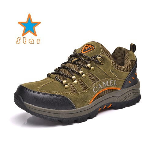 New Authentic Men's Outdoor Camel Mountain Hiking Shoes Male Fashion Leisure Sports Shoes Hiking Sneakers 604(China (Mainland))