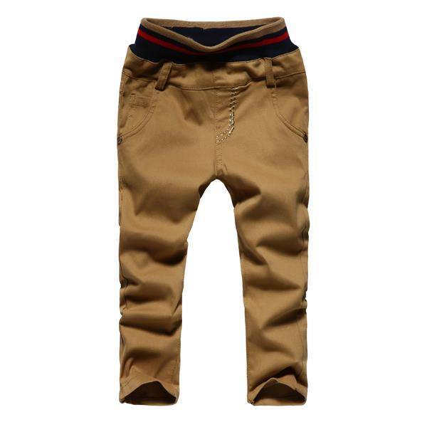 Low Waist Design Boys Fashion Fit Harem Pants Size 90-130 cm Street Style Full Length Kids Casual Embroidery Trousers(China (Mainland))
