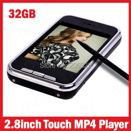 MP4-плеер MP5 player 32 MP4 2,8/MP4 16GB MP5 MP4 32 fm/+ + 2.8inch touch screen mp4 плеер newest 200 100% 32 1 8 6 mp4 dhl 6th gen mp4 32gb