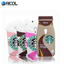 3D Ice Cream Starbuck Silicone Case Motorola Moto G2 XT1068 XT1069 Mocha Bottle Cup Soft Cover - Aicol Electornics Co,.Ltd store