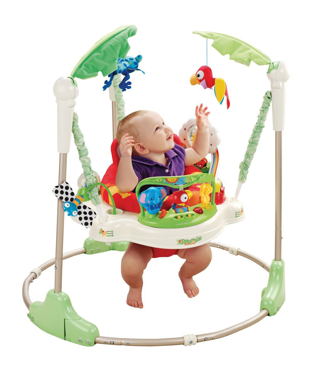 Free Shipping Rainforest Jumperoo Baby Bouncer Rocking Chair Baby Jumper Activity Center Baby Swing(China (Mainland))