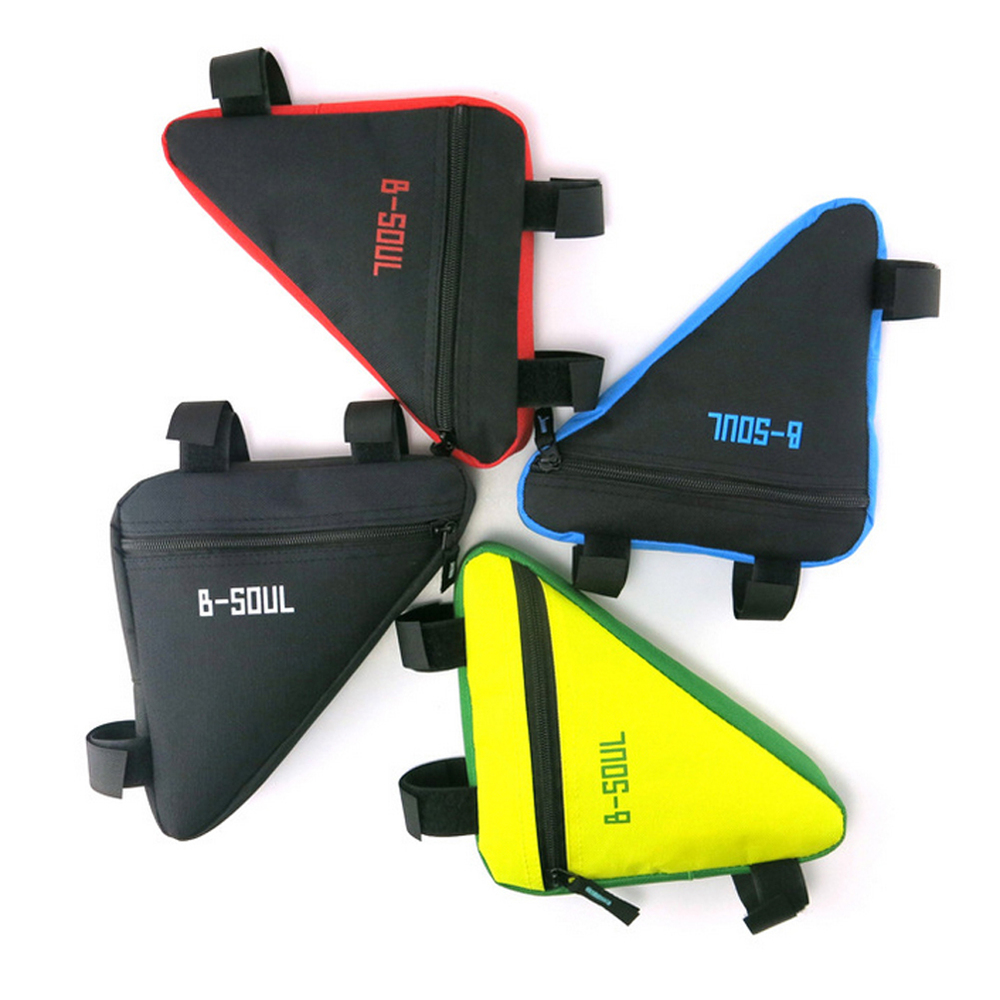 4 Colors Waterproof Triangle Cycling Bicycle Bags Front Tube Frame Bag Mountain Triangle Bike Pouch Holder Saddle Bag(China (Mainland))