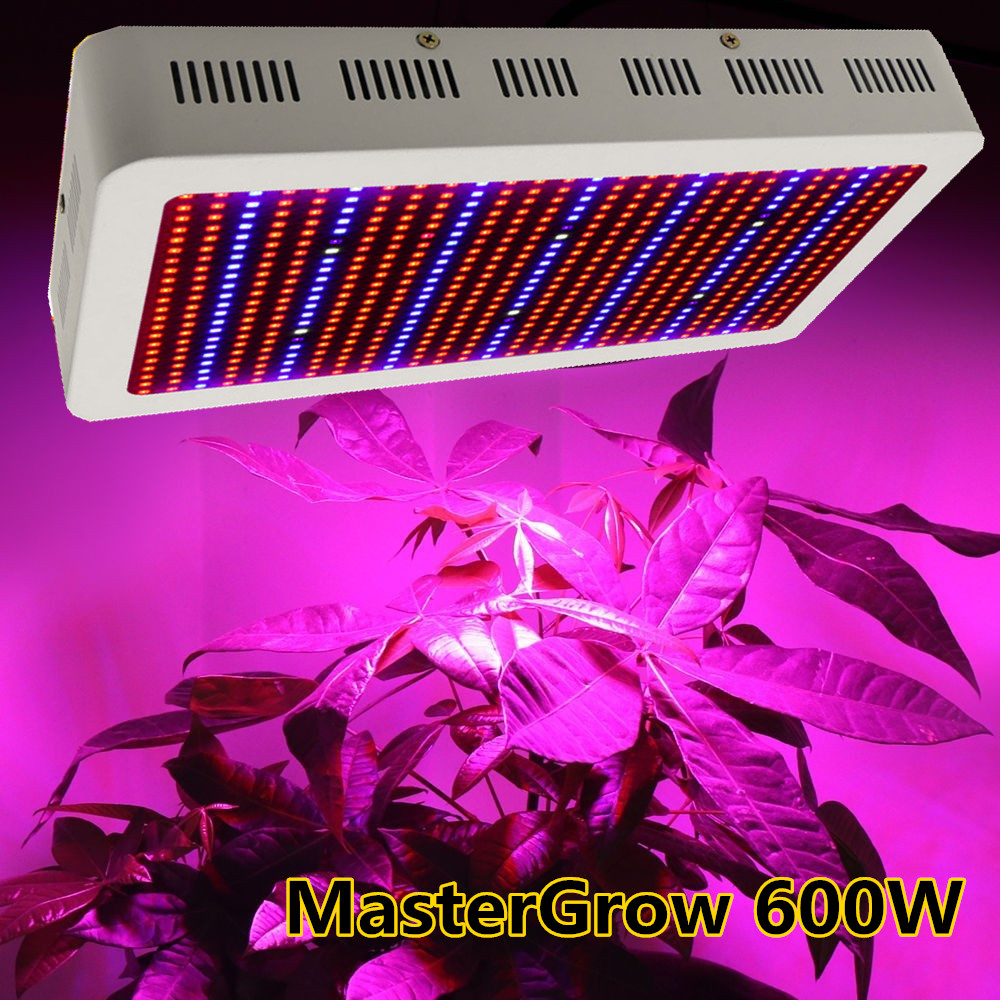 Master Full Spectrum 600W LED Grow Light Red/Blue/White/UV/IR AC85~265V SMD 5730 Led Plant Lamps Best For Growing and Flowering(China (Mainland))