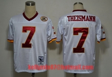 AAA,Washington Redskins,Robert Griffin III,Art Monk,John Riggins,Darrell Green,JOE THEISMANN,Throwback for men(China (Mainland))