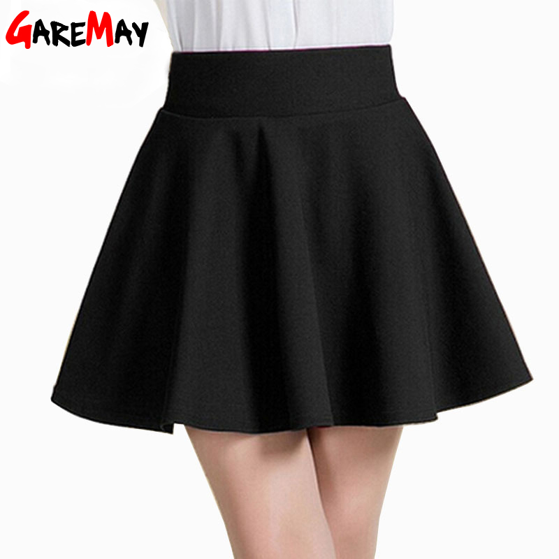 Short Skirt Women 2016 Fit Tutu School White Back Color Clothing Skirts Faldas Ball Gown - Garemay Store store
