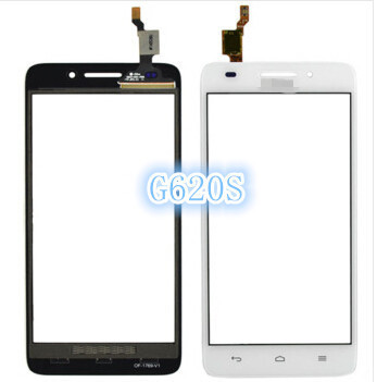 High quality Black OR White touch panel HuaWei G620S G621 8817E 8817S touch screen digitizer replacement for HuaWei G620S phone