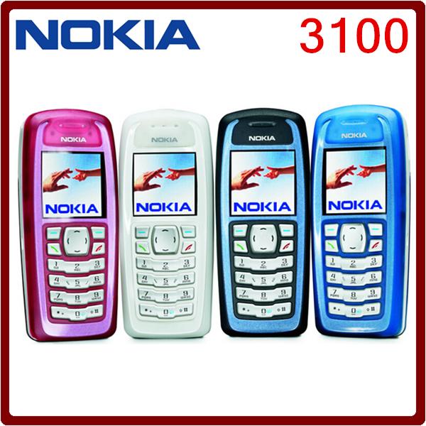 3100 Brand Original Unlocked Nokia 3100 GSM Bar 850 mAh Support Russian Keybaord Cheap Cellphone Free Shipping(China (Mainland))