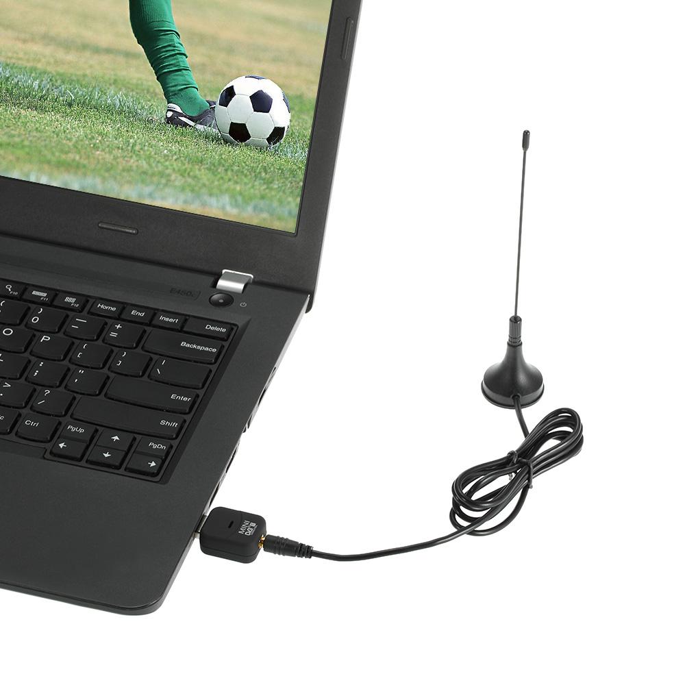 USB 2.0 Digital DVB-T HDTV TV Tuner Receive USB Stick DVB-T USB Dongle for Windows 7 8 10 PC Notebook(China (Mainland))