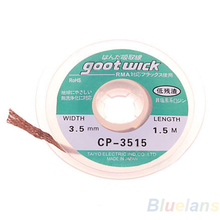 5 ft. 3,5 mm entlötlitze löt-entferner docht goot draht 04mb(China (Mainland))