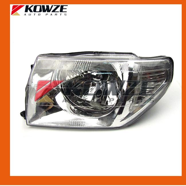 Фотография Head Lamp Head Light Assembly For Mitsubishi Pajero Mottero Shogun IO Pinin H66 H67 H76 H77 MR964897 MR964898