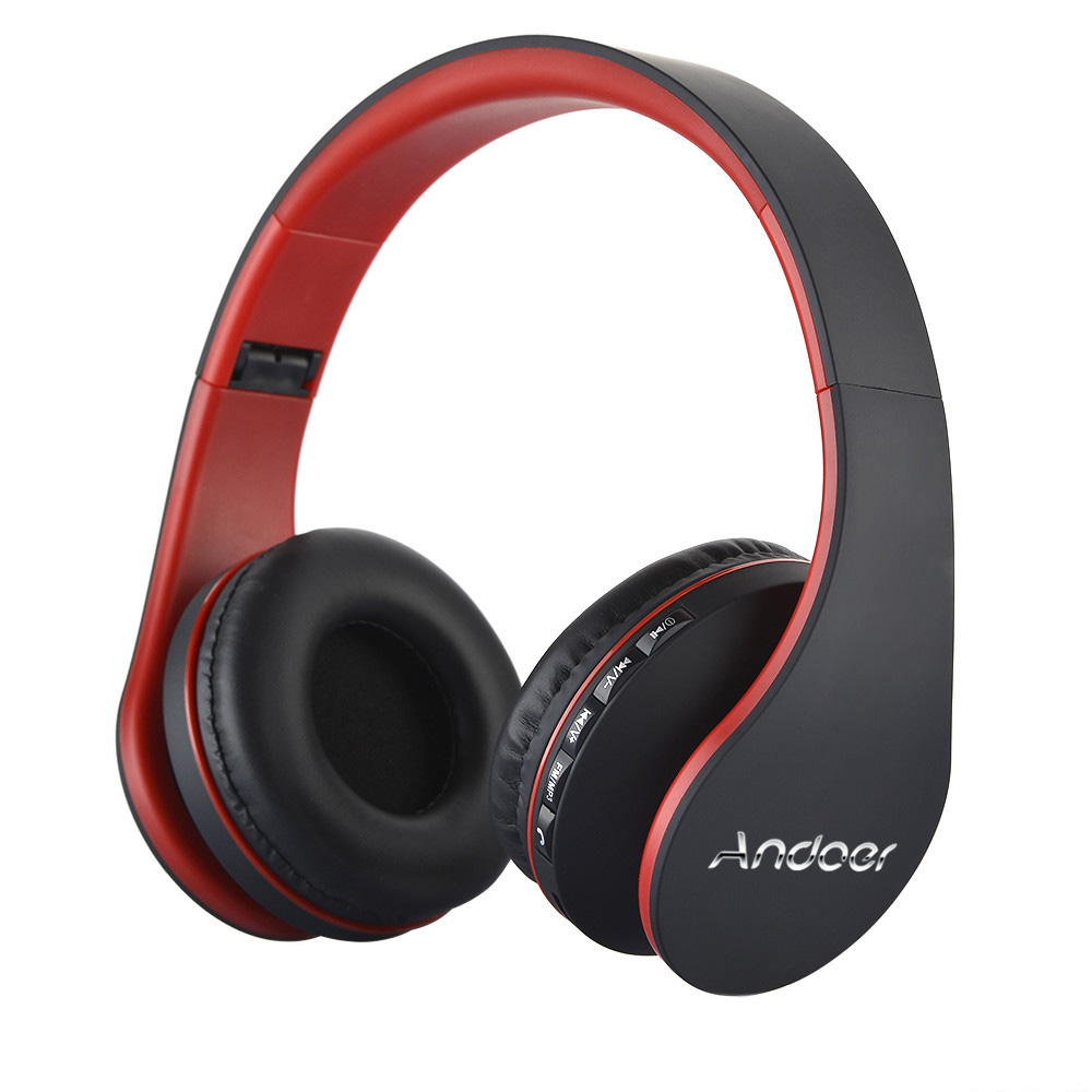 Best Selling Andoer Wireless Headphones Digital Stereo Bluetooth 3.0 EDR Headset Card MP3 player Earphone FM Radio Music for all(China (Mainland))
