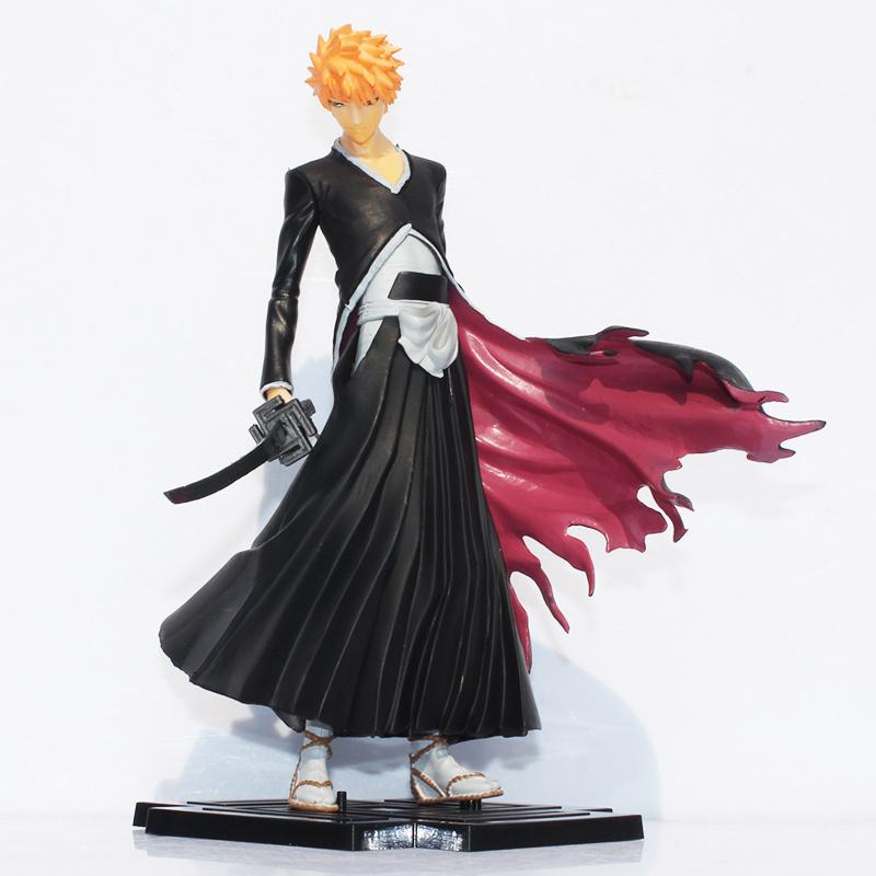 19cm Japana Anime Bleach Figure Toy Kurosaki Ichigo PVC Action Figures Toys Free Shipping(China (Mainland))