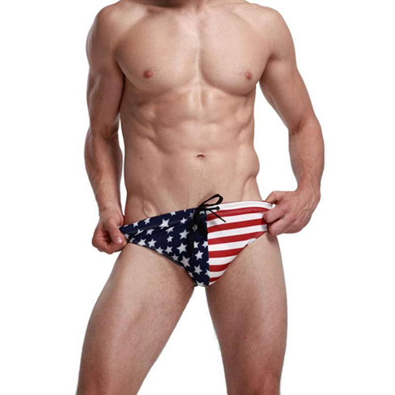 Stars and Stripes Swimwear & Underwear, our flag collection, patriotic swimwear and underwear for men and women including American flag swimwear bathing suits and others. Male and female USA flags, UK flags and mixed designs and prints underwear and flag .