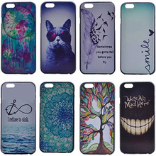 6/6s Color Printed Case For iPhone 6/6s Phone Hard Back Cover For iPhone 6s Capa Para Ultra Slim Case for iphone6 Phone Shell